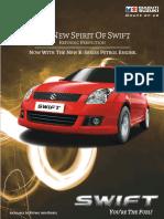 Maruti Swift Brochure