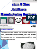 Calcium & Zinc Stabilizers Manufacturing Business