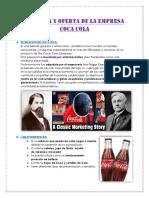 Demanda y Oferta de La Empresa Coca Cola