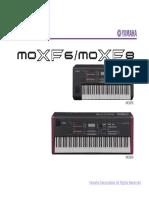 Yamaha Mox Moxf Manual de Servicio
