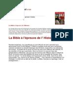 Historia N°698 - La Bible