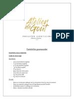 Philippe Conticini - Tartelettes Gourmandes Recette 22 05 2019