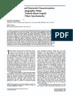 Polyimide characterization