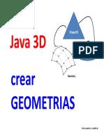 Curso Java3D Módulo 08-CreandoGeometriasParte01