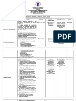 BE Form 2 School Action Plan