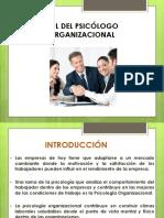 Rol Del Psicologo Organizacional
