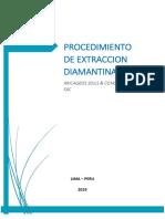 Procedimiento Para Extraccion Diamantina en Antenas