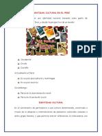 Identidad Cultural en El Perú