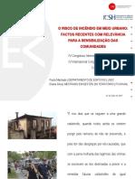 Risco de Incendio Em Meio Urbano