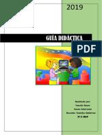 Guía Didáctica (Yunalis y Xuxan)