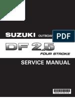 Suzuki DF2-5 Service Manual