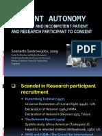 Patient Autonomy
