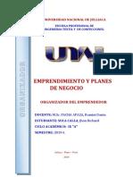 ORGANIZADOR DEL EMPRENDEDOR - Emprendimiento y Planes de Negocio