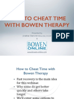 Cheat Time Webinar