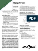 DODGE V belt IOM.pdf