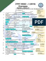 XI Chemistry Overseas 2019