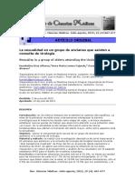 Diaz H. La Sexualidad en Un Grupo de Ancianos Que Asisten a Consulta de Urologia. 2015
