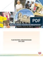 Plan Pastoral Arquidiocesano 2015 2020