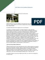 El Peso de Un Pétalo El Valor de Los Jardines Botánicos H. Bruce Rinker