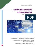 Otros Sistemas de Refrigeracion Unidad 4