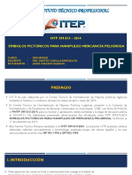 Ntp 399.015 – 2014 Símbolos Pictóricos Para Manipuleo Mercancía Peligrosa