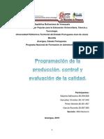 Trabajo de Programación de La Produccion