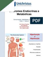 Aula Síndromes Endócrinas Cha i vs 2