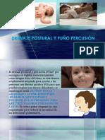 Drenaje Postural y Puño Percusión