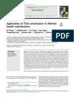 constitución manutención de salud en MTCH