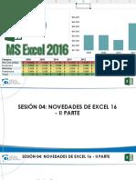 Excel 2016 Bas Sesión 4 Presentación