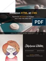 Initiation HTML CSS