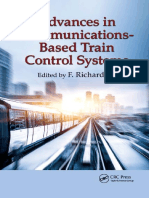 Advances in Communications Based Train Control Systems by F. Richard Yu