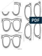 plantilla anteojos