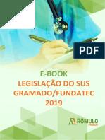 e-Book Revisão Legislação do SUS Gramado Fundatec 2019
