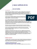 Manual Para Comprimir Peliculas Dvd a AVI,MKV,MP4,Xvid o H26