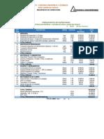 Anexo 13.4 Presupuesto de Supervision