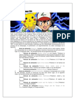 Cronología Pokemon