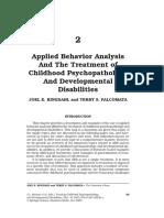 behavior therapy methods