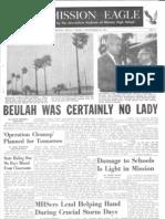 9-29-68 Mission Eagle Newspaper