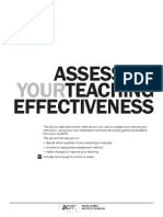 5.2 Assessing Teaching Effectiveness