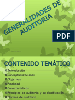 Generalidad Auditoria Actualizada 2014