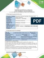 Guía de Actividades y Rúbrica de Evaluación - Actividad Fase 5 - Proyecto de Manejo Del Suelo