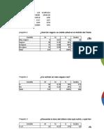 Excel Data Estudio de Mercado