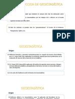 2.Introducion de Geoestadistica