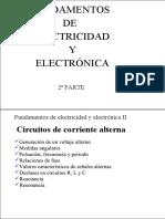 Fundamentos de Electricidad y Electrónica II