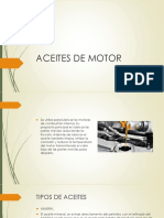 Aceites de Motor -