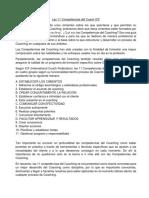 Las 11 Competencias Del Coach ICF