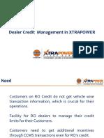 Dealer Credit Sale Module