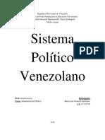 Sistema Politico Venezolano-Maria Graterol