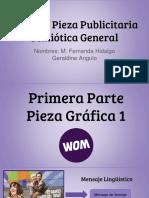 Análisis Pieza Publicitaria Semiotica General